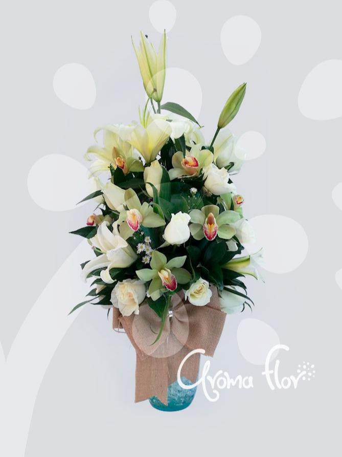Finas Orquídeas y lirios