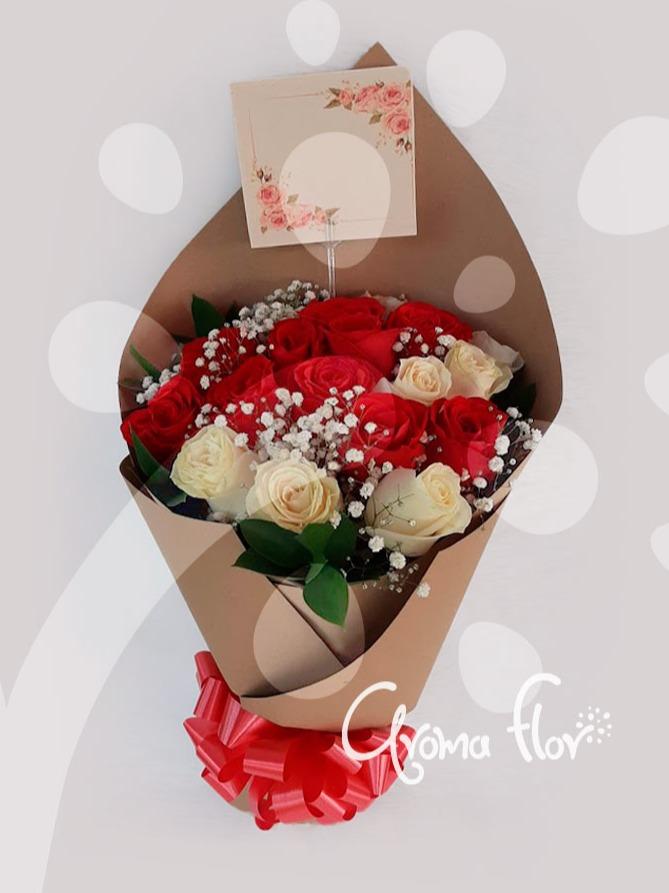 Bouquet 24 rosas
