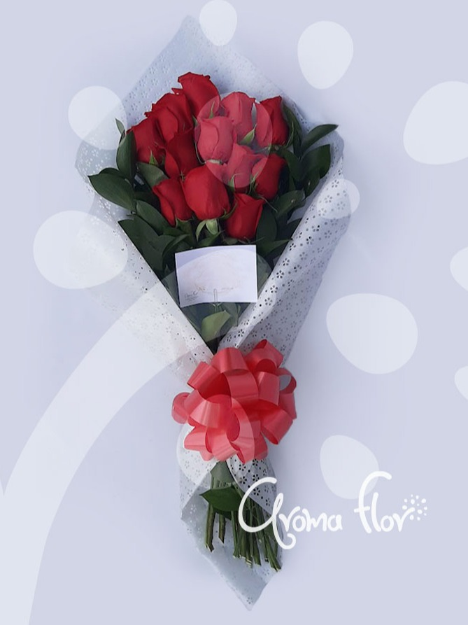 Manual 12 rosas rojas.