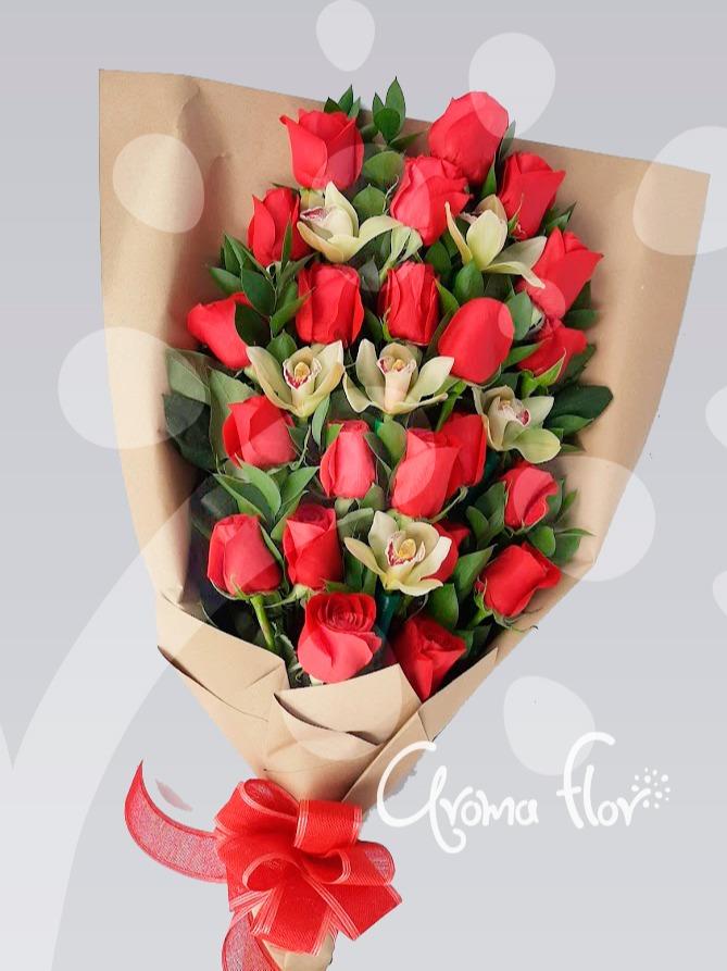 Manual 24 Rosas Rojas Y Orquídeas.