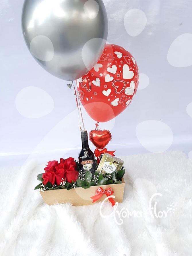 Chocoamor de rosas