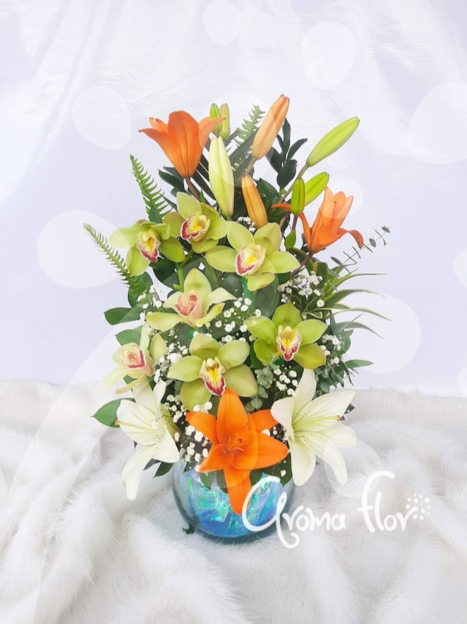Especial de Orquídeas y Lirios