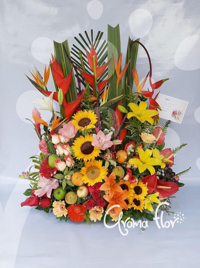 Ramo  de flores Compacto