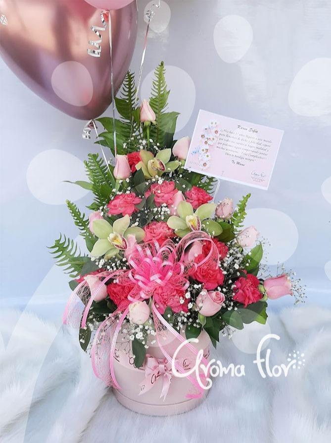Claveles, Rosas y Orquídeas